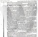 1946 Jan 11, Holt Weekly News - Martha Waagedahl obituary