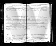 1910 Audrain county, Missouri, Marriage License registry, pages 362-363