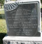 Marker for George and Mary Repp