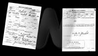 WWI draft registration card for James G Dixson