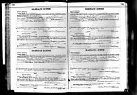 1915 State of Missouri, Randolph county, Marriage License registry