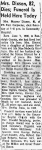 1969-07-07 Moberly Monitor, page 7, Obituary for Mayme Ornburn Dixson